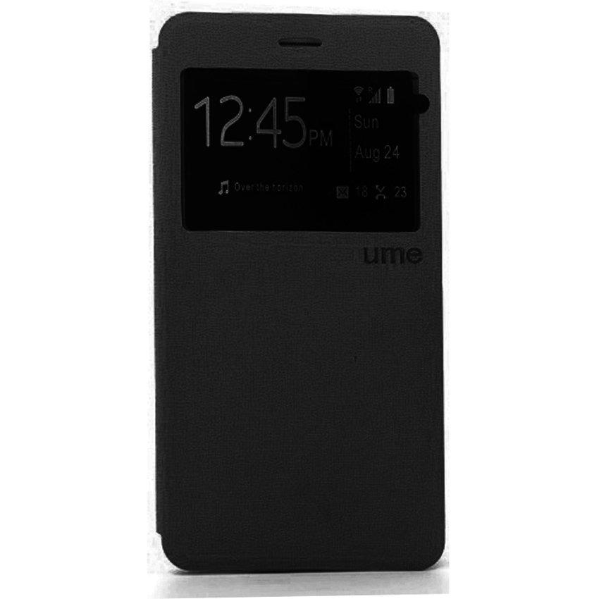 Ume flip Cover Samsung Galaxy J1 Ace - Hitam