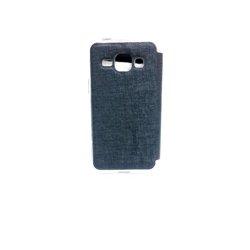 Ume Flip Cover Samsung Galaxy J1 - Biru Dongker
