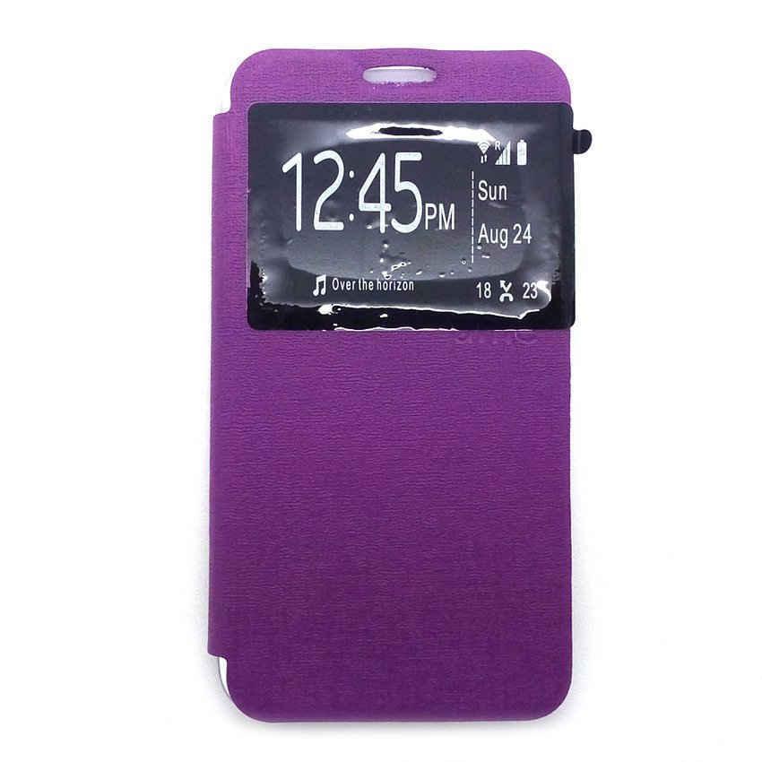 Ume Flip Cover untuk Asus Zenfone Go 4.5 inch - Ungu