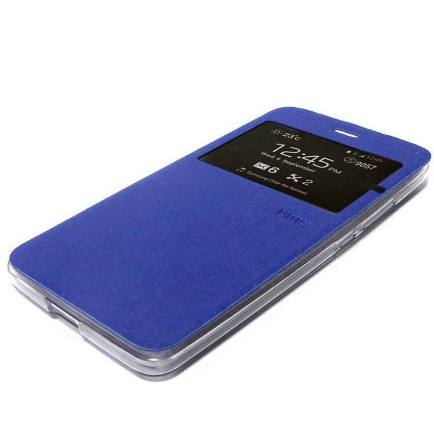 Ume Flip Cover untuk Vivo Y31 - Biru