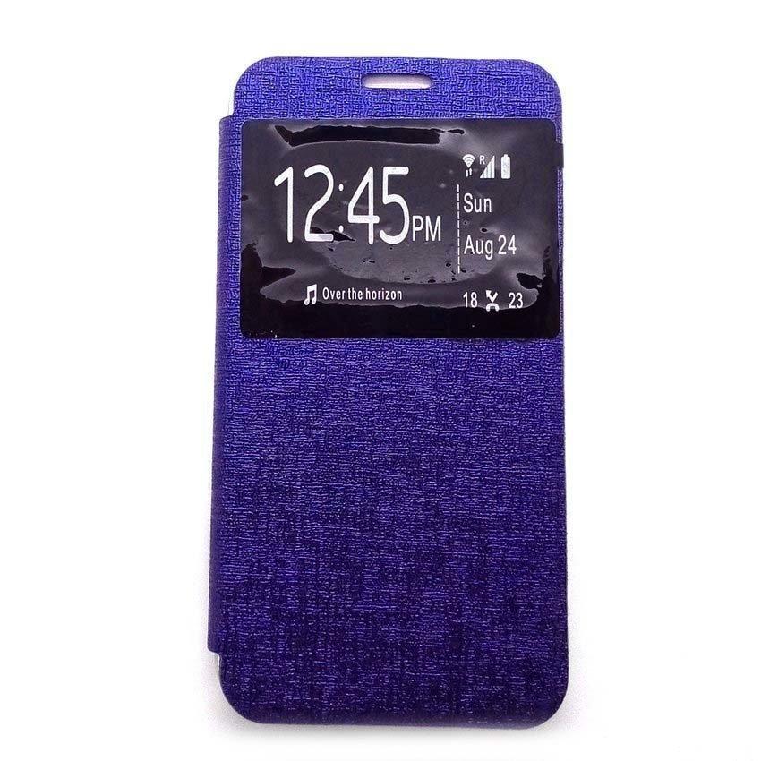 Ume Flip Cover Untuk Xiaomi Mi 5- Biru Dongker