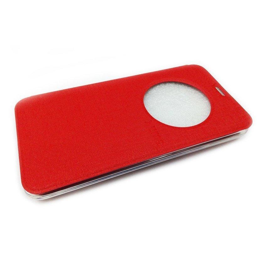 Ume Flip Cover View Asus Zenfone 2 ZE 550ML/ ZE 551ML - Merah