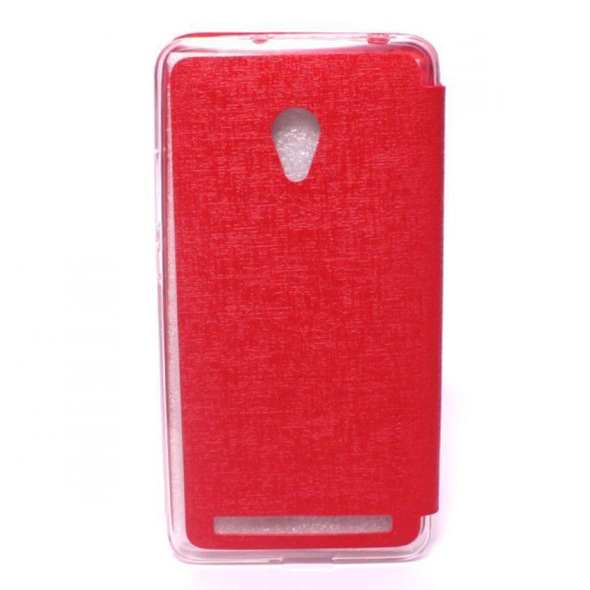 Ume Flip Cover View Asus Zenfone 6 - Merah