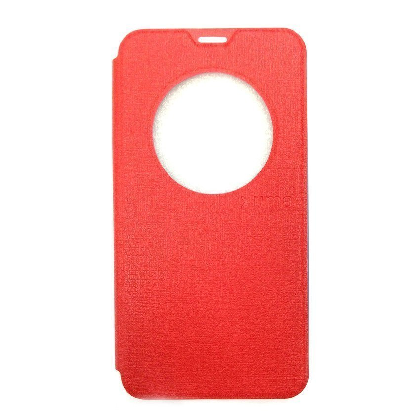 Ume Flip Cover View For Asus Zenfone 2 ZE550ML/ZE551ML- Merah