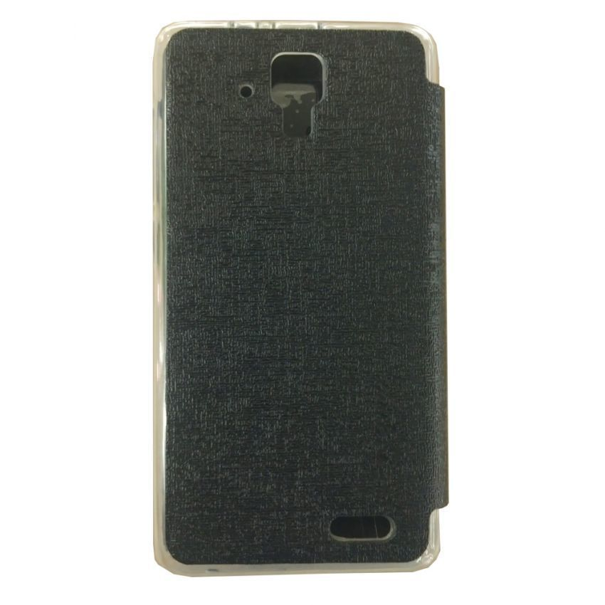 Ume Flip Cover View for Lenovo A536 - Hitam