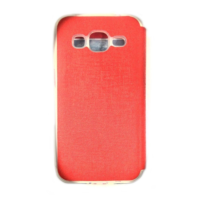 Ume Flip Cover View for Samsung Galaxy J1 - Merah