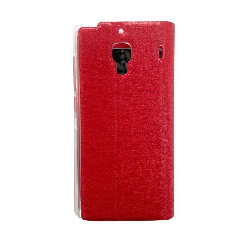 Ume Flip Cover View Xiaomi Redmi 1S - Merah