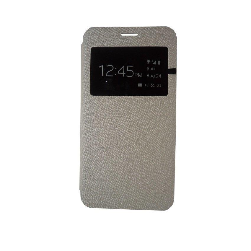 Ume Leather Case Lenovo A6000 - Putih