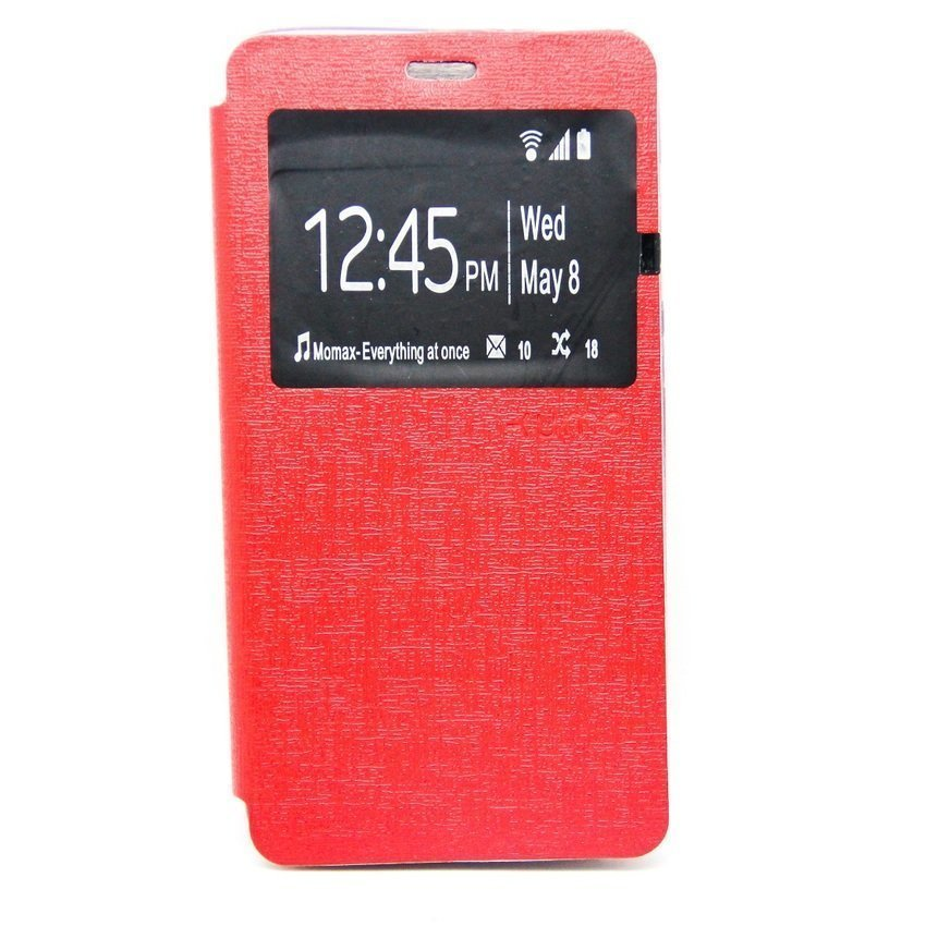 Ume Leather Case Samsung Galaxy Prime G530H - Merah