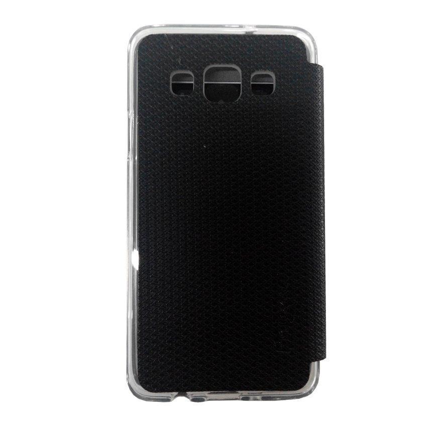 Ume Samsung Galaxy A3 Flip Cover View - Hitam