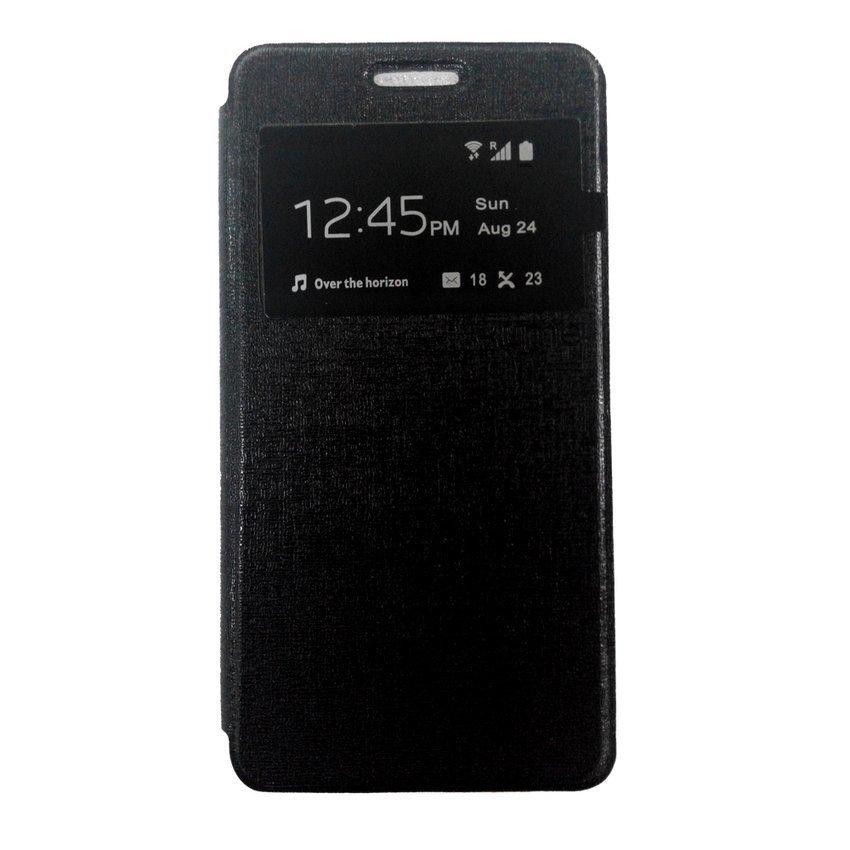 Ume Samsung Galaxy A5 Flip Cover View - Hitam