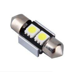 Universal - 1 Pcs Lampu LED Festoon Dome Car Light Interior / Double Wedge / Kabin Plafon Canbus 2 SMD 5050