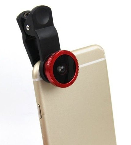 Universal 3 In 1 Clip-on Fish Eye Macro Wide Angle Mobile Phone Lens Camera kit for iPhone 4 5 6 Samsung S4 S5 (Intl)