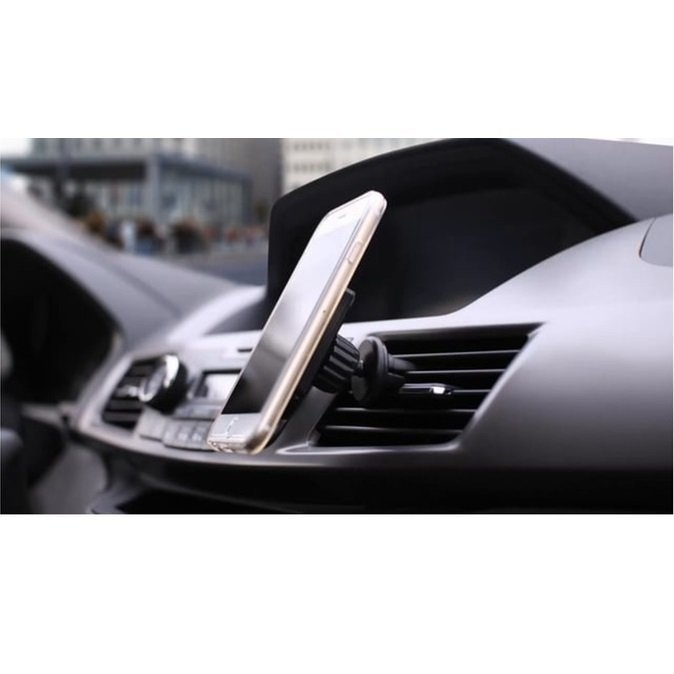 Universal 360 Degree Magnetic Car Air Vent Mount Holder - 151005 - Hitam