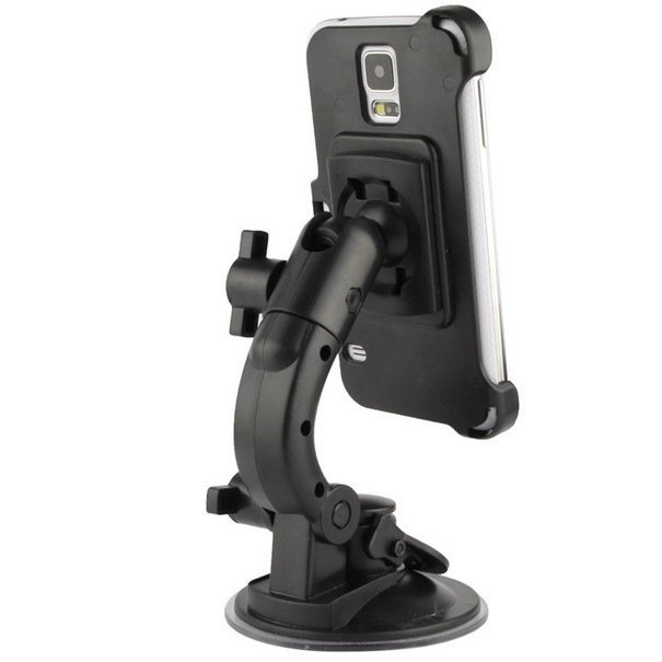 Universal 360 Degrees Rotation Suction Cup Car Mount Holder for Samsung Galaxy S5 / G900