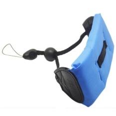 Universal Absee Waterproof Floating Hand Strap For Camera GoPro / Xiaomi Yi - Biru