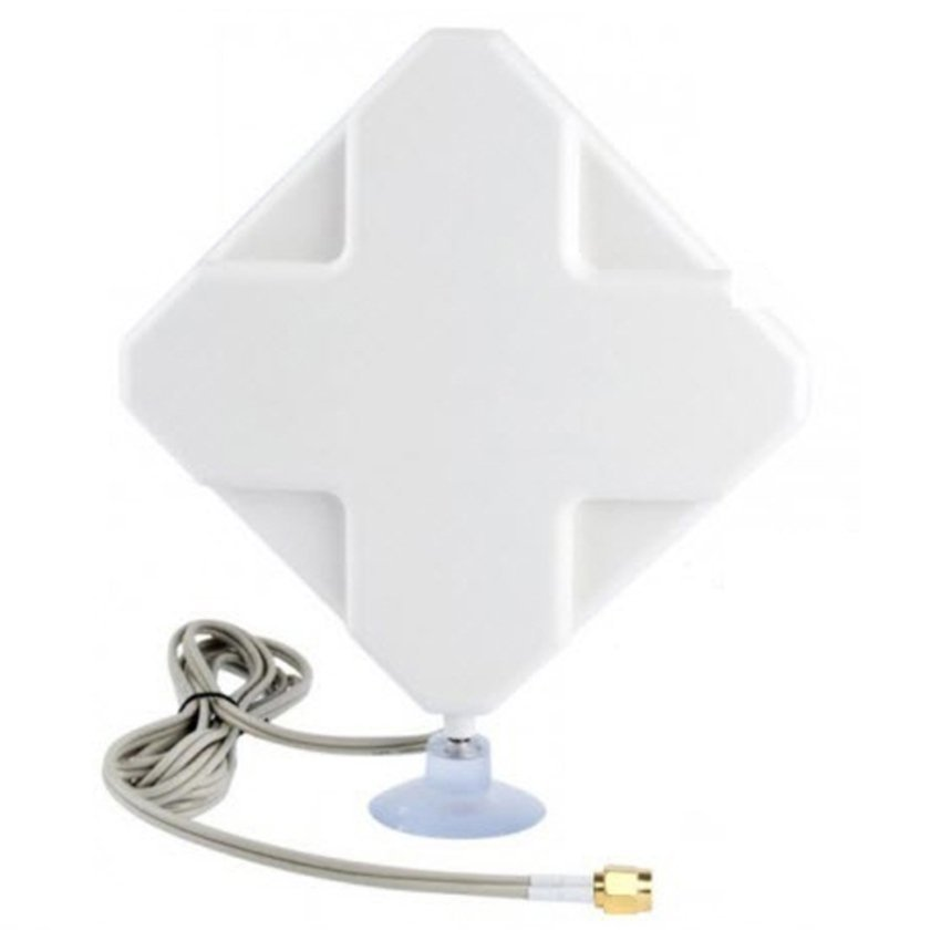 Universal Antenna for Modem Sierra 754s Routers 4G LTE MIMO External Dual SMA Connector - Putih