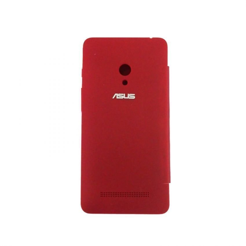 Universal Asus Flip Cover for Zenfone 6 - Merah