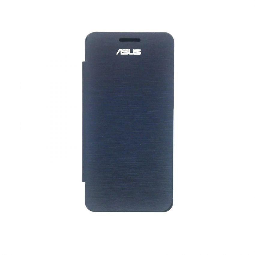 Universal Asus Flip Cover View Zenfone 5 - Biru Dongker
