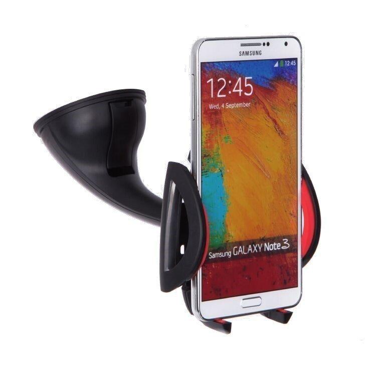 Universal Car Windshield Mount Smart phones Car Holder(Red) (Intl)
