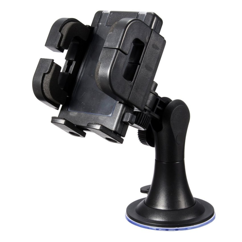 Universal Car Windshield Mount Stand Bracket Holder for iPhone 6 Samsung S5 GPS (Intl)