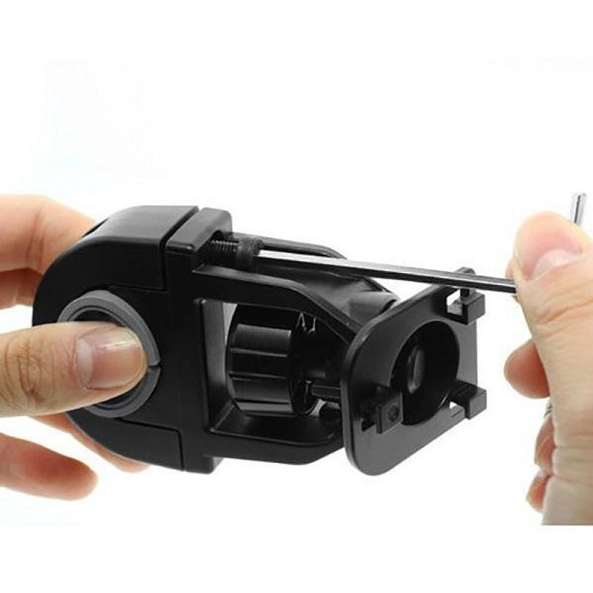 Universal Easy One Touch Bike Mount for Smartphone - L-0811-BMB - Hitam