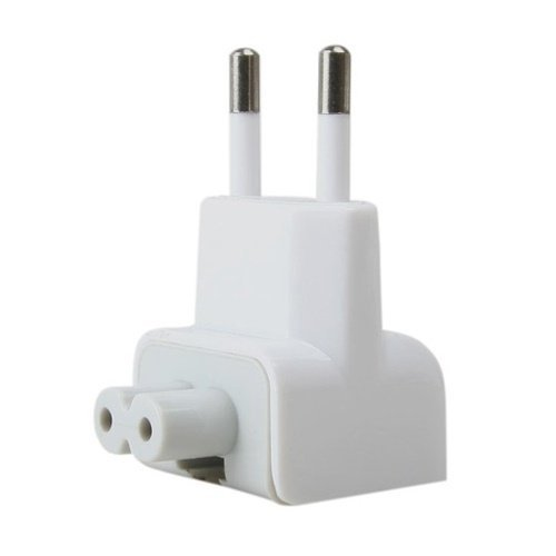 Universal EU AC Plug for Apple Adaptor - Putih