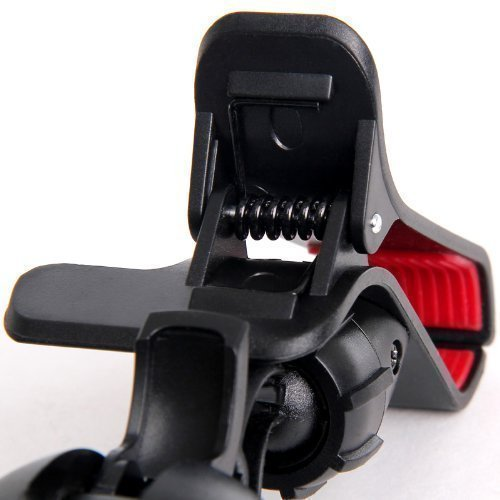 Universal Flexible 360-degree Rotating Mounting Clip Car Vehicle for iPhone/Samsung/Smartphone (Black) (Intl)