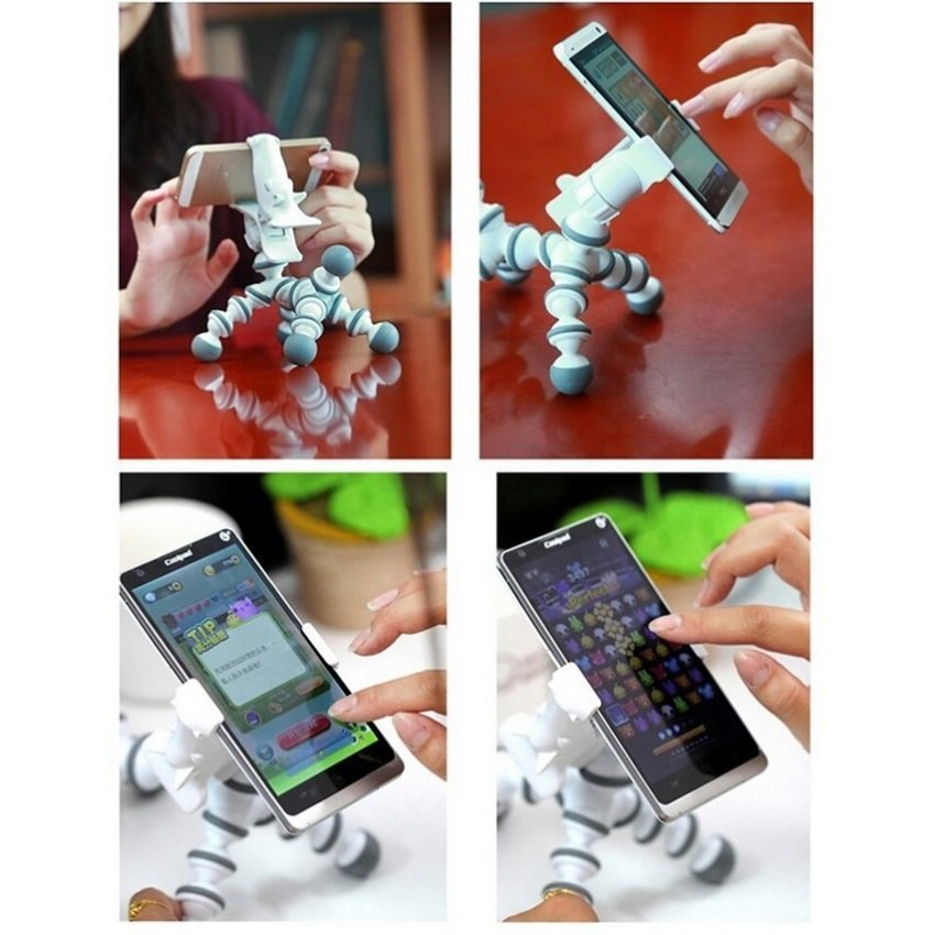 Universal Flexible Tripod Horse Style for Smartphone - White