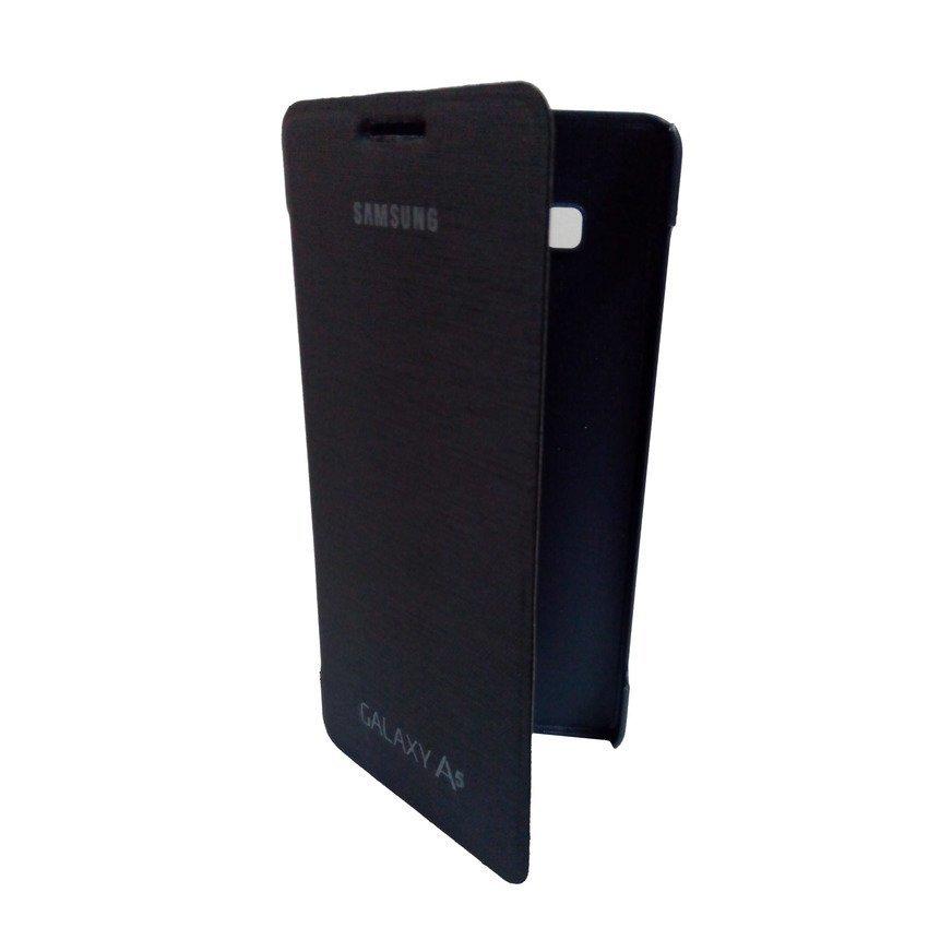 Universal Flip Cover Samsung Galaxy A5 - Biru Dongker