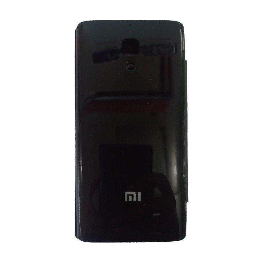 Universal Flip Cover View For Redmi 1S - Hitam