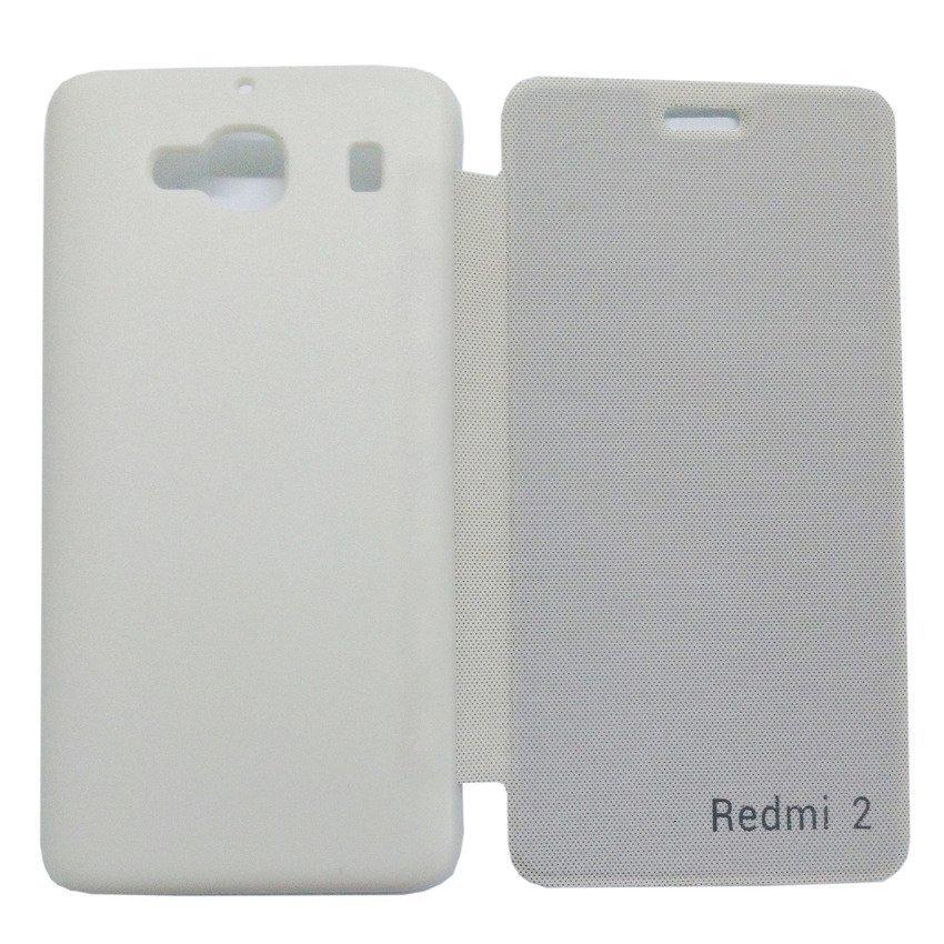 Universal Flip Cover Xiaomi Redmi 2 - Putih