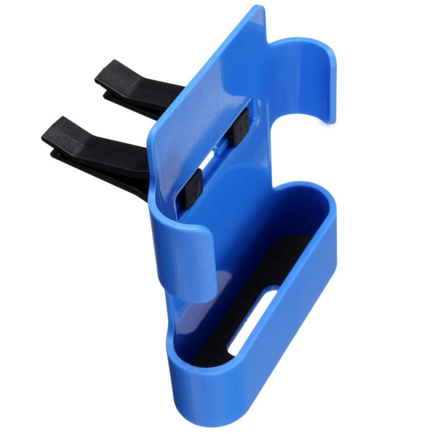 Universal In Car Air Vent Mount Bracket Car Stand Holder Cradle For Smart phone Blue (Intl)