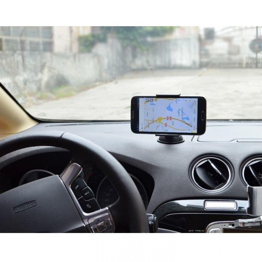 Universal Lazy Tripod Car Mount Holder for Smartphone - WF-219 - Hitam