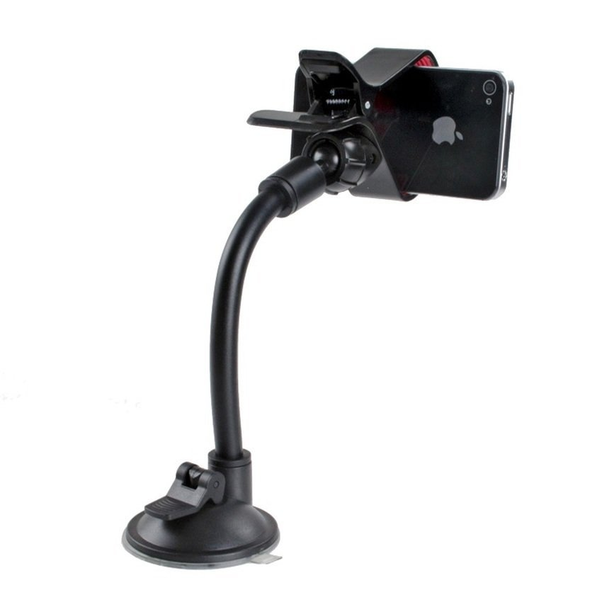 Universal Lazy Tripod Car Mount Holder for Smartphone - WF-356 - Hitam