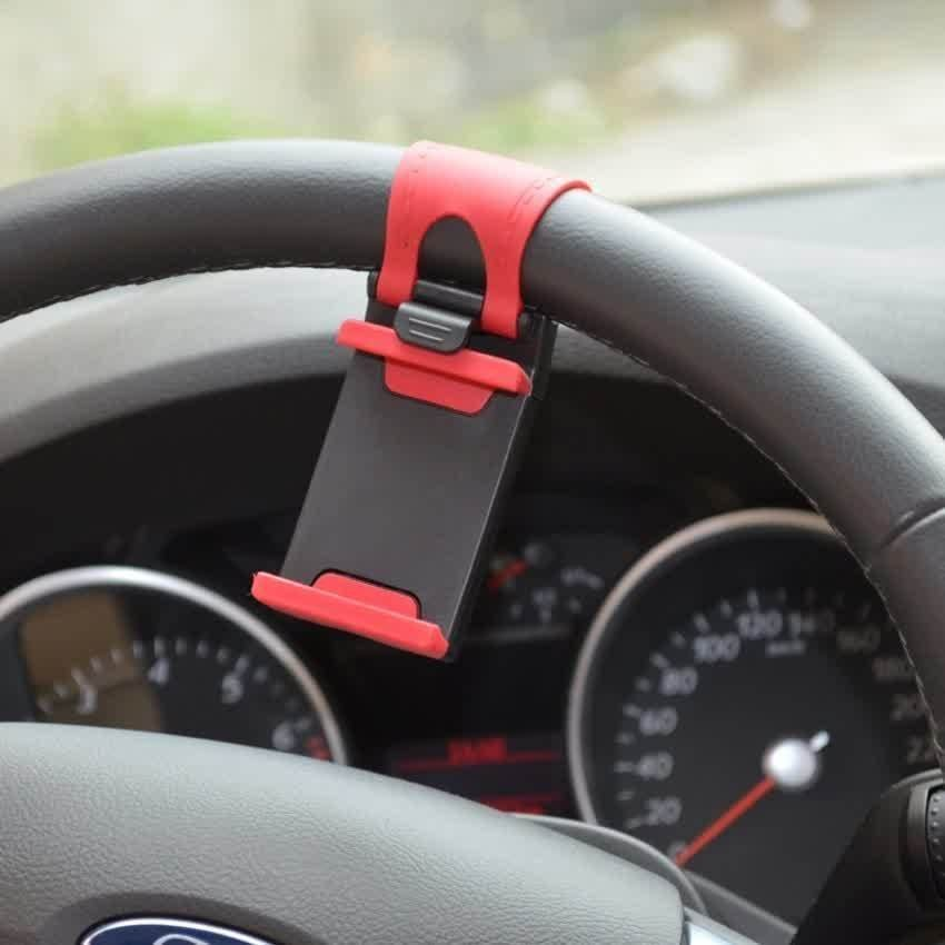 Universal Lazy Tripod Car Mount Holder for Smartphone - WF-358 - Hitam