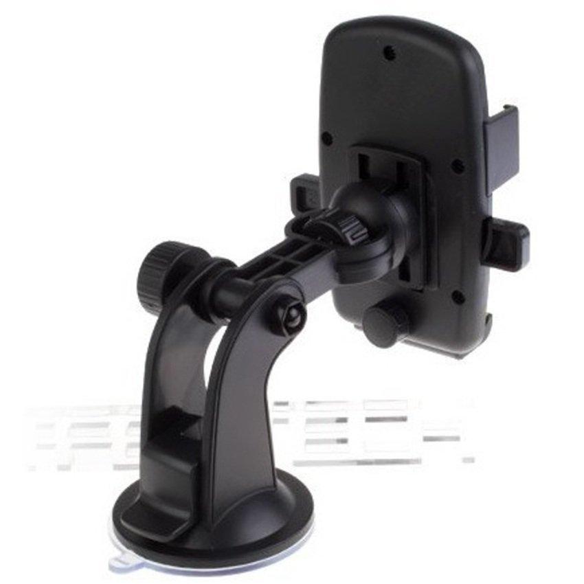 Universal Lazy Tripod Car Mount Holder for Smartphone - WF-361 - Hitam