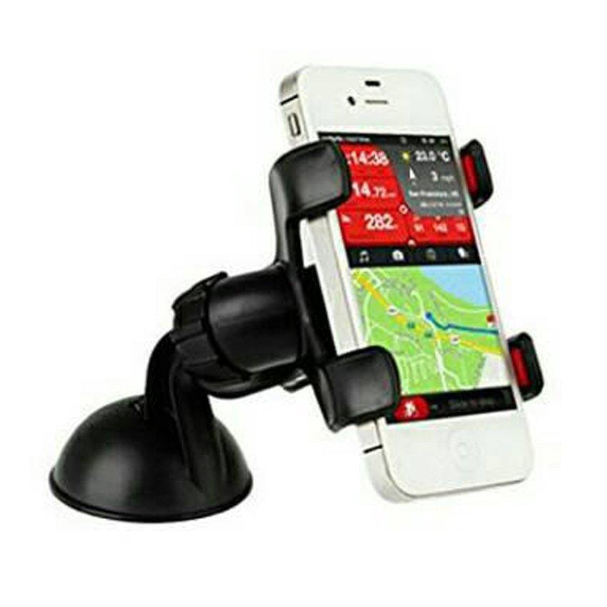 Universal Lazypod Mobil Meja Car Motor Suction Mount Holder Smartphone