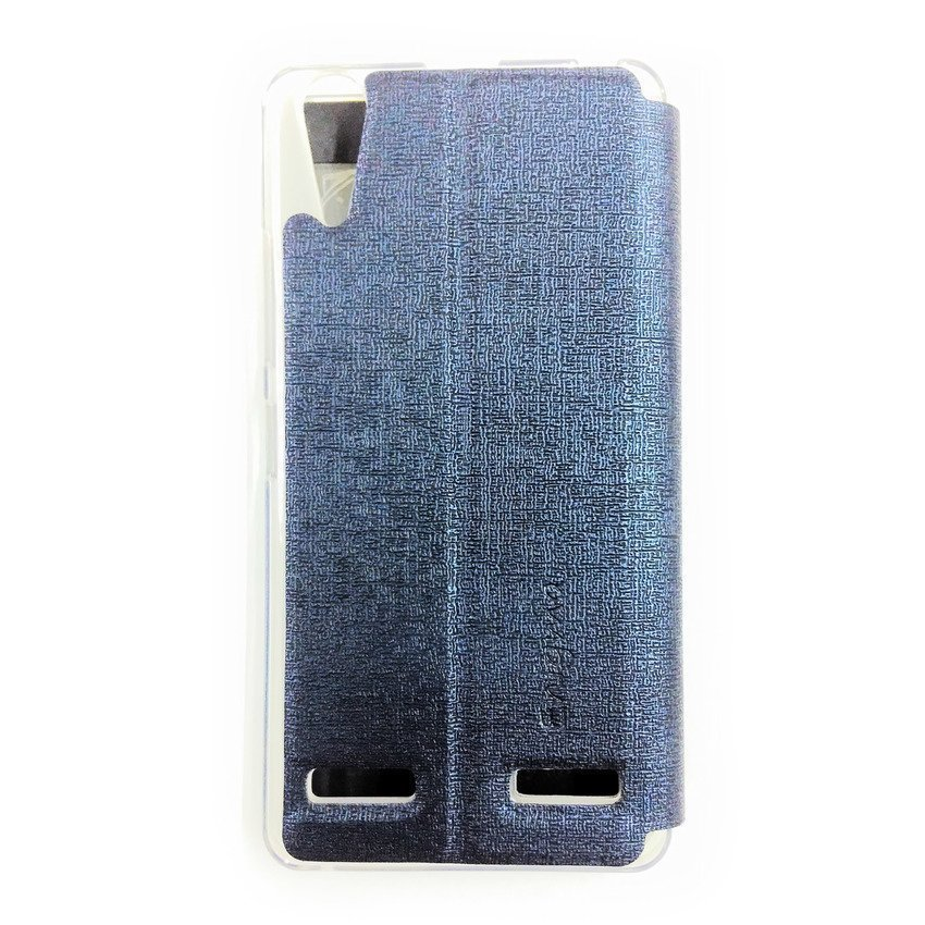 Universal Leather Case For Lenovo A6000 - Biru Tua