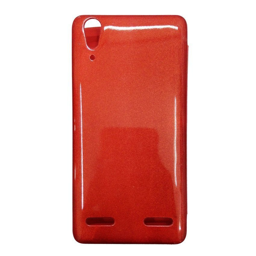 Universal Leather Case for Lenovo A6000 - Merah