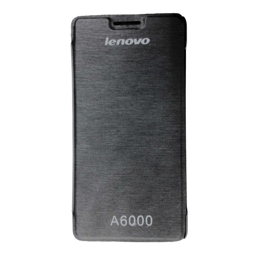 Universal Leather Case Lenovo A6000 - Hitam