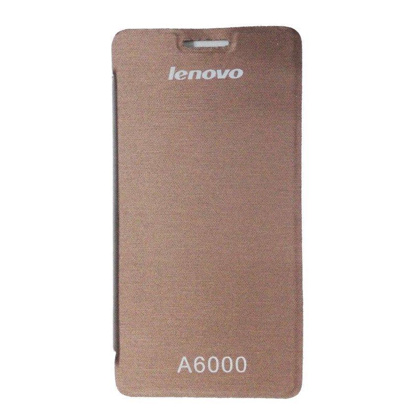 Universal Lenovo Flip Cover A6000 - Cokelat