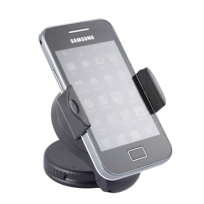 Universal Mini Car Windshiled And Dashboard Mobile Phone Mount Holder (Intl)