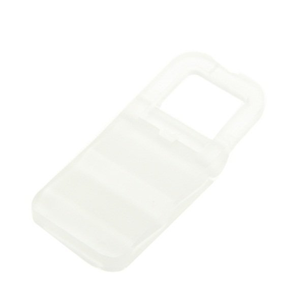 Universal Mini Phone Hard Plastic Stand Holder for iPhone 4/4s and Mobile Phone - Putih