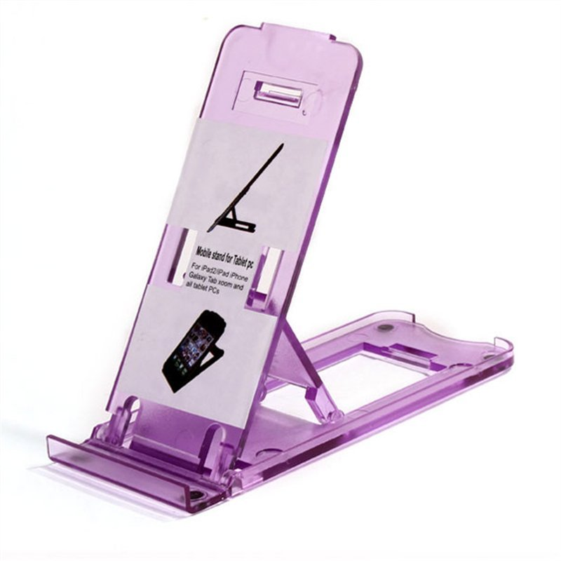 Universal Mobile Phone Portable Desktop Holder Mount Stand Cradle Bracket for Cell Phone Ipad (Intl)