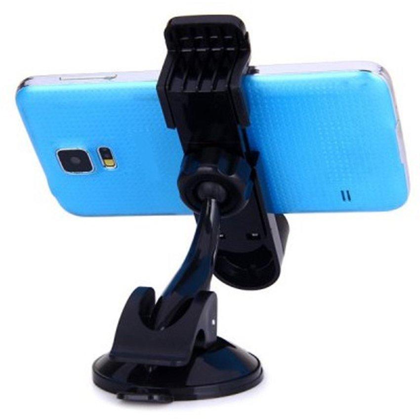 Universal Phetron Car Holder 360 Degree Rotation for Smartphone - JHD-04HD67 - Hitam
