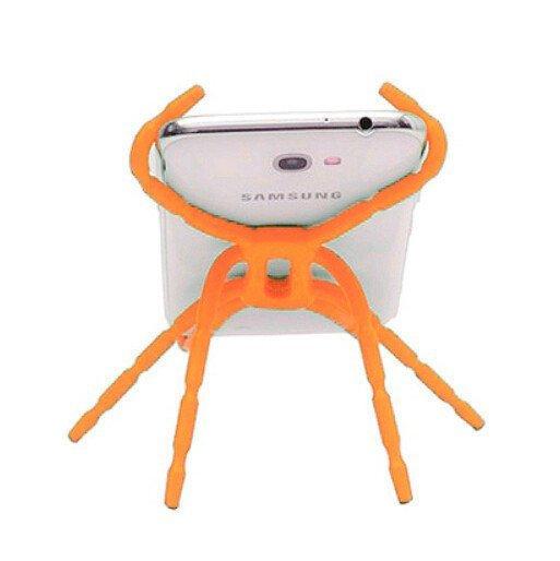 Universal Spider Multi-Function Car Phone Holder (Orange) (Intl)