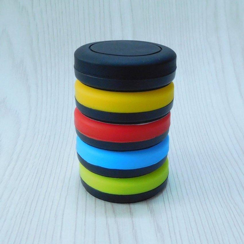 Universal Sticky Magnetic Car Mount Holder for Smartphone - Hitam