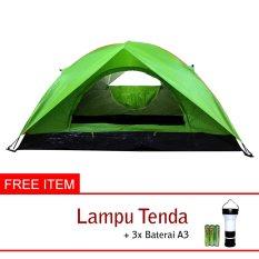 Universal Tenda Dome Double Layer Kapasitas 4 Orang