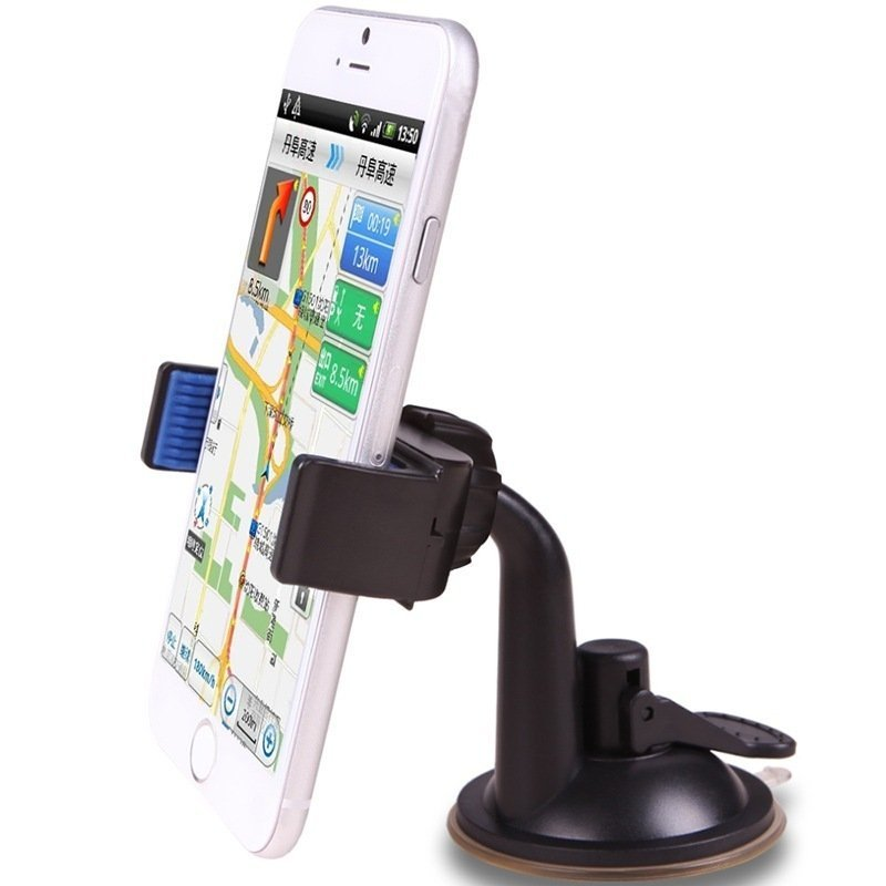 Universal U-Shape Car Mount Holder Blue